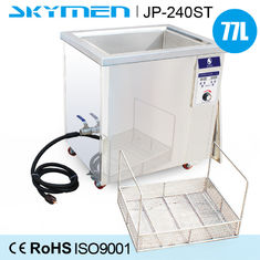 Fingerprint Oil Ultrasonic Cleaning Machine 77 Liter With 3000W Heating Power
